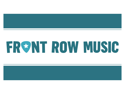 front row music logo