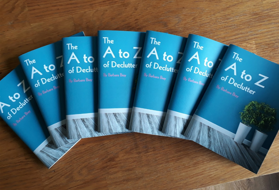 The A to Z of Declutter: An Interview with Author and Professional Organiser, Barbara Bray