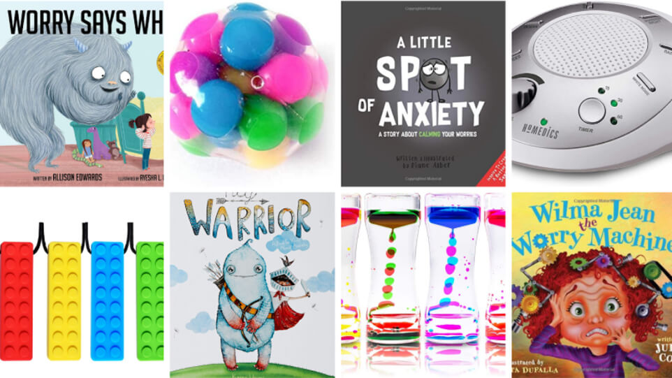 Books, Toys, and Gadgets…Oh My! Top Gadgets, Books, and Strategies to Battle Anxiety in Young Children