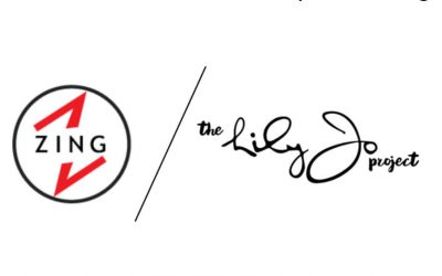 """A """"Zing"""" in Our Step: The Lily-Jo Project Announces New Partnership With Zing"""